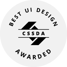 CSS Design Awards Best UI Award